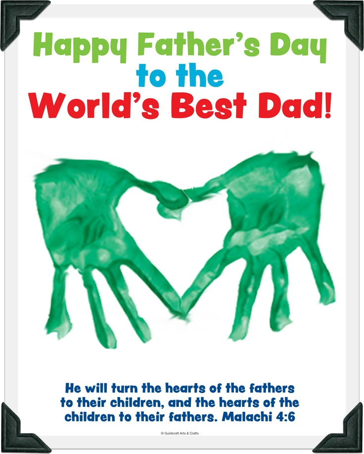 Fathers day craft dayhome ideas pinterest