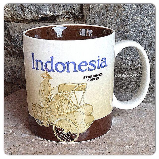 Indonesia Starbucks City Mug (Global Icon Series