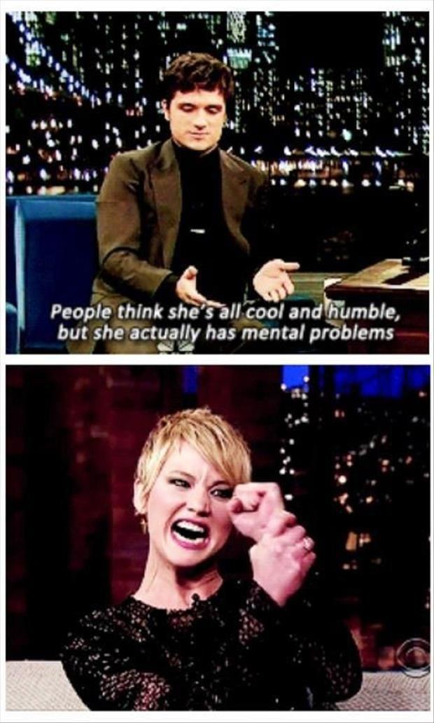 Ah… Jennifer Lawrence :)
