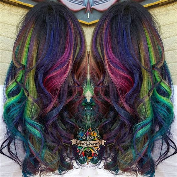 20 Galaxy Hair Color Ideasthe Breathtaking Beauty