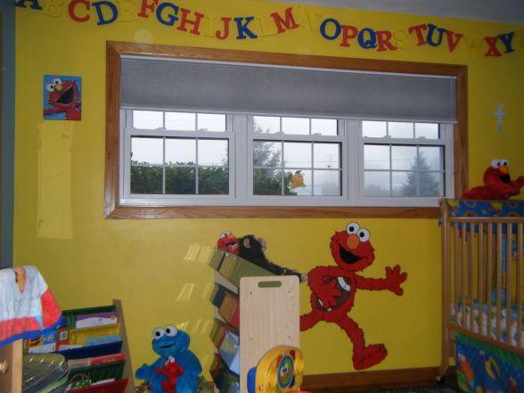 Low Budget But Cute Sesame Street Bedroom