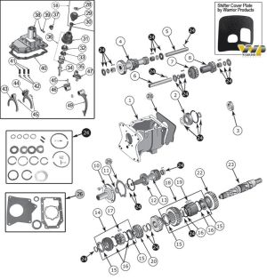 22 best images about Jeep CJ5 Parts Diagrams on Pinterest