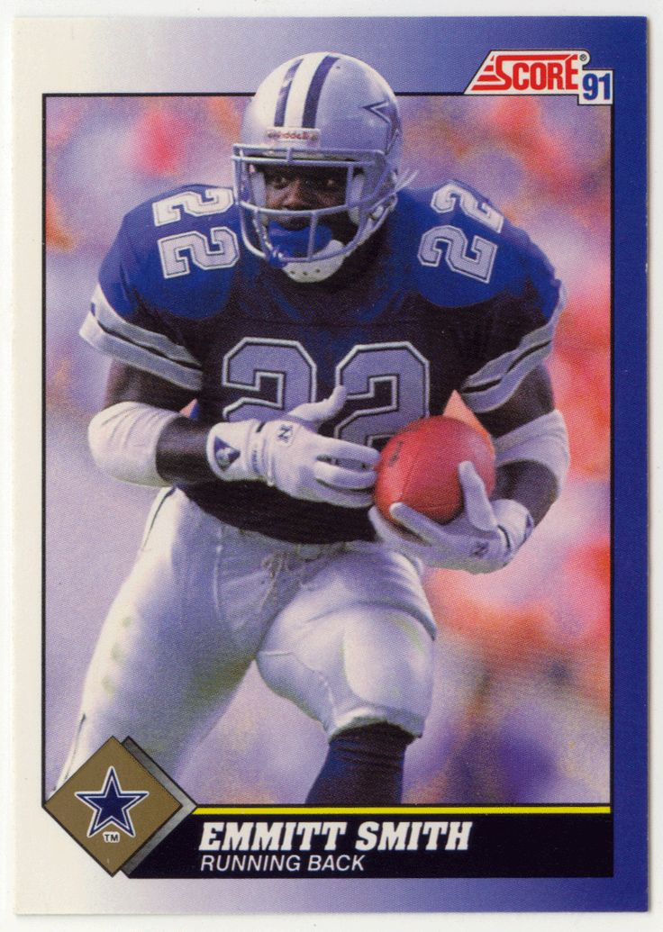Emmitt Smith 15 1991 Score Football Scores and Cowboys