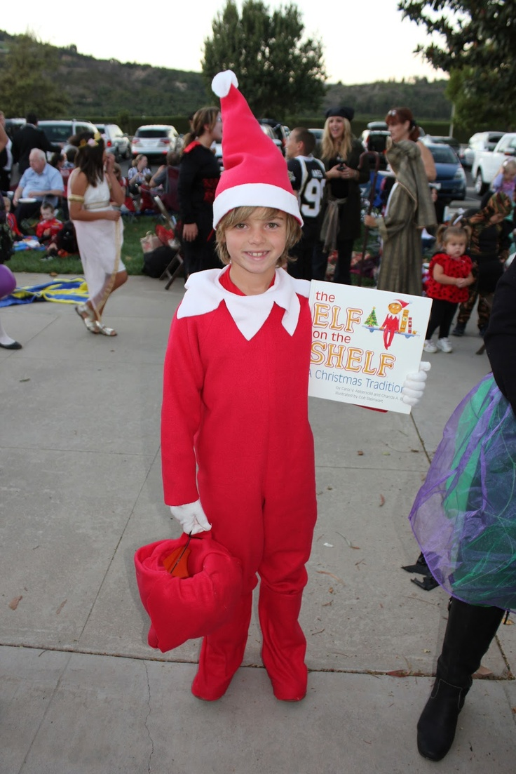 Elf on the Shelf halloween costume halloween Pinterest