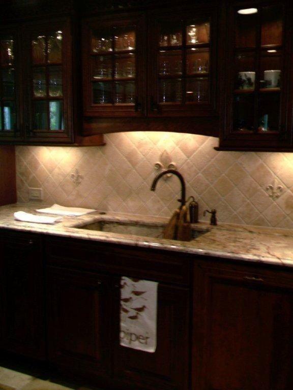 Fleur De Lis Tile Backsplash Design Kitchen Pinterest Tile And Fleur De Lis