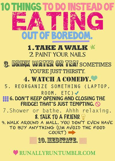 10 Things To Do Instead of