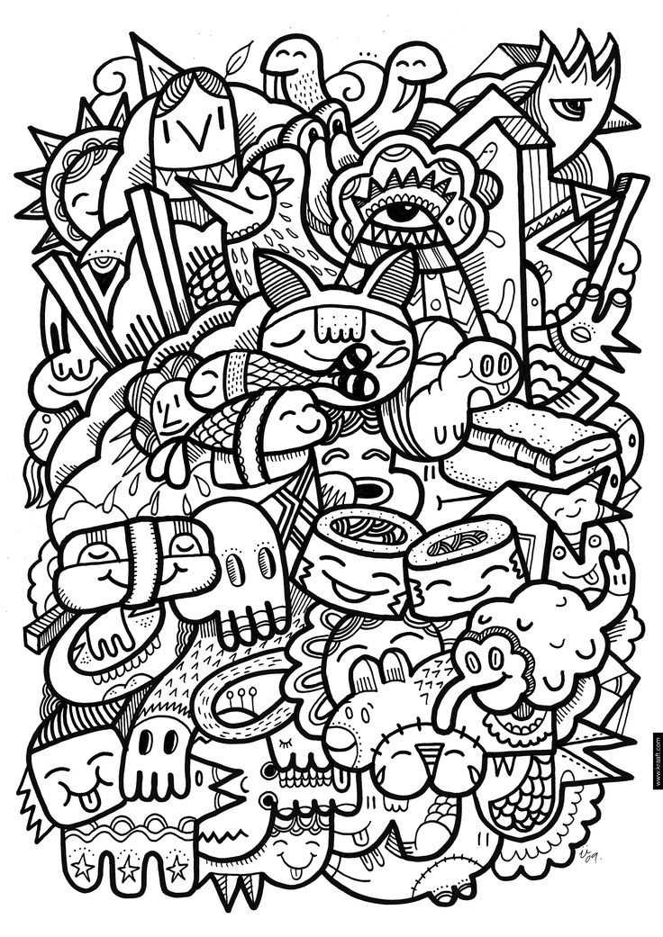 crazy sushi coloring page plus cahier de coloriage adult coloring