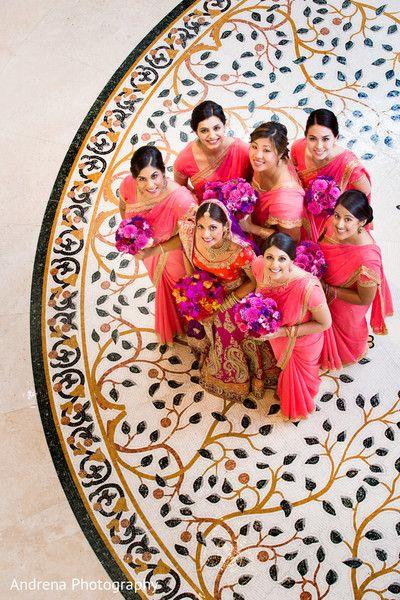 Indian wedding photography. Bridal photo shoot ideas. Candid photography  Indian bride wearing bridal lehenga and jewelry. #IndianBridalHairstyle #IndianBridalMakeup