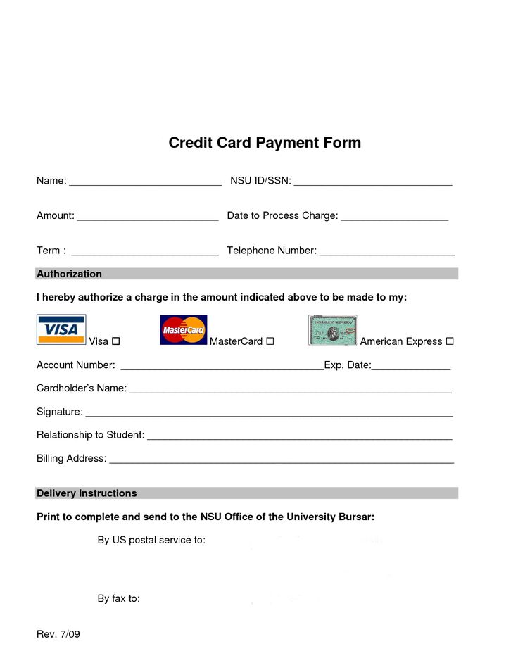 Credit card processing form web design pinterest