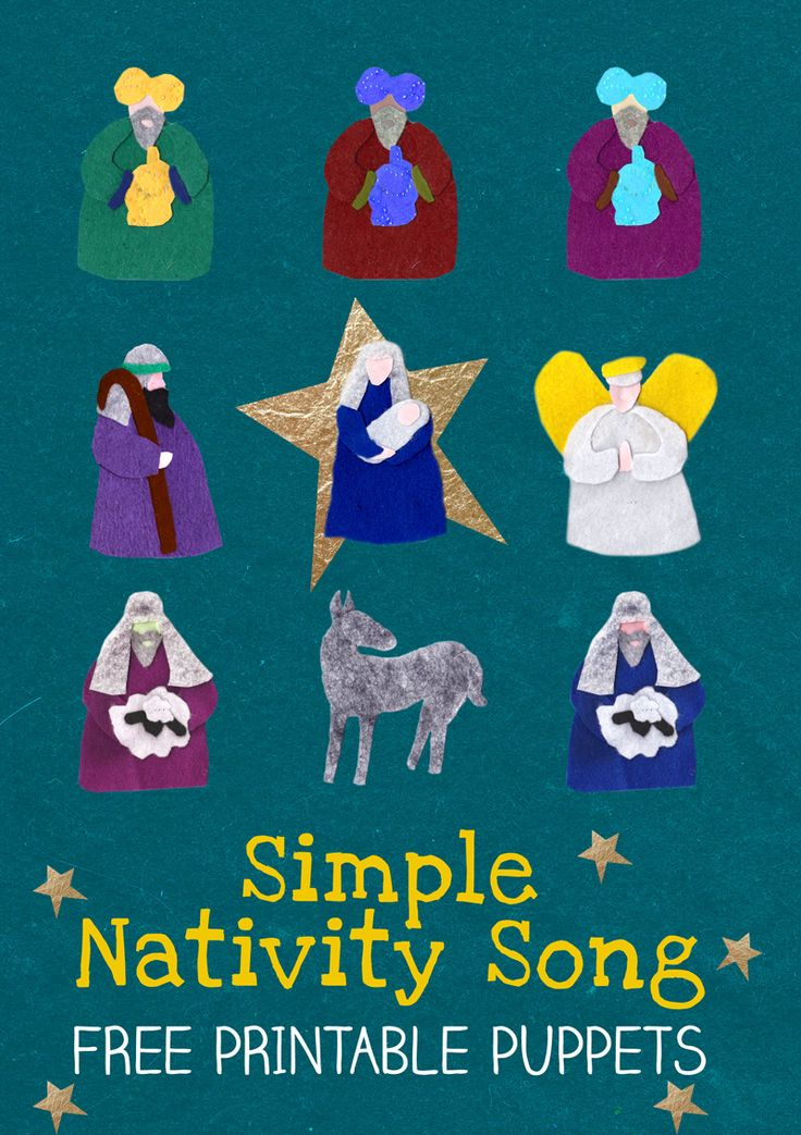 Nativity Song and Puppet Show Plays, The o'jays and Puppets