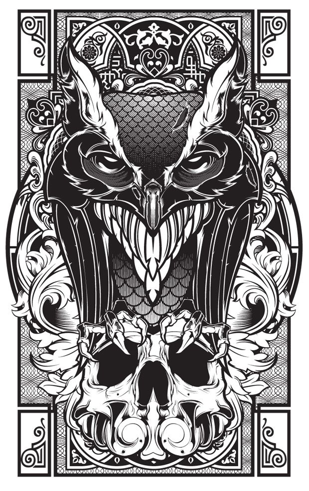 badass vector art illustrationshydro74 (plus sketches