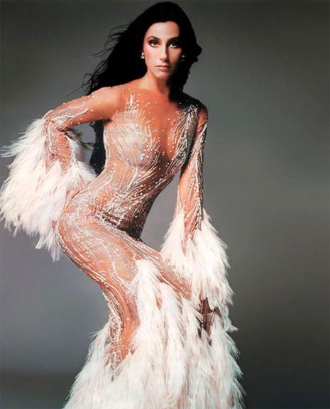 Bob Mackie Evening Dress Worn By Cher Vogue Magazine