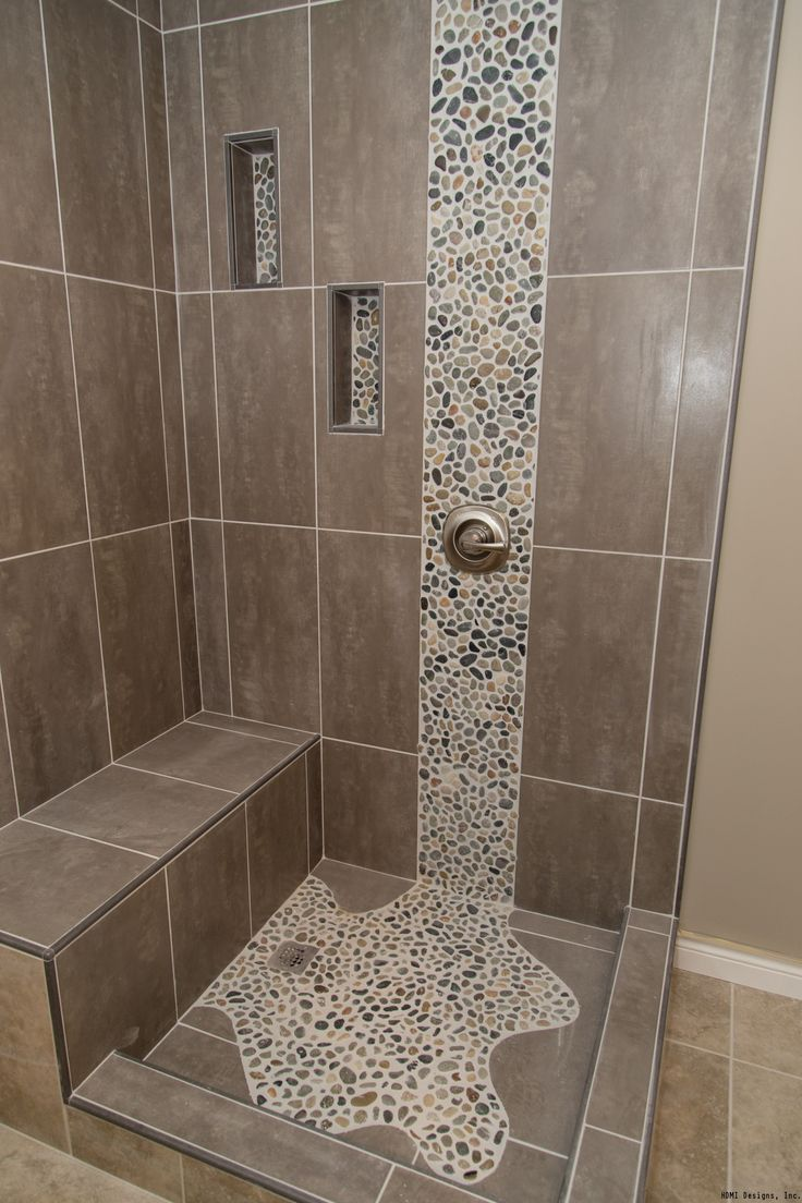 25 Best Pebble Tile Shower Ideas On Pinterest River