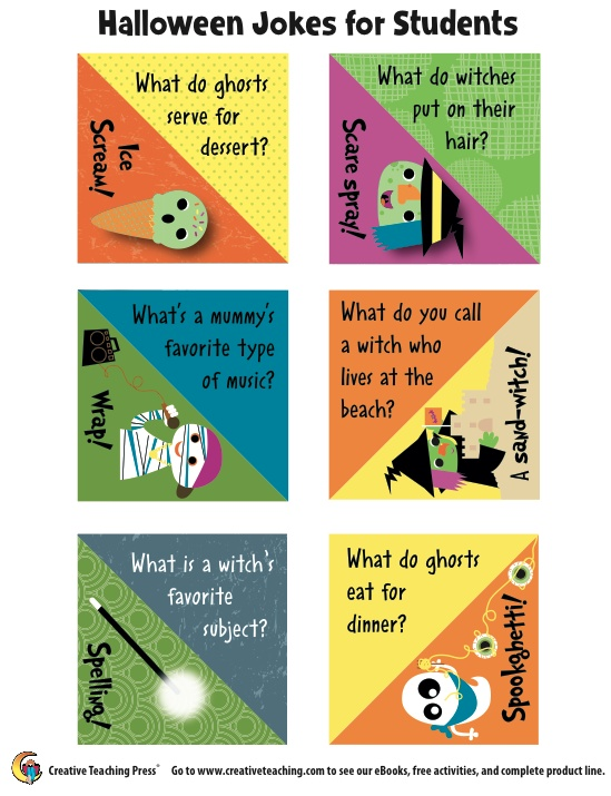 Halloween Jokes for kids! Seasons Fall Pinterest
