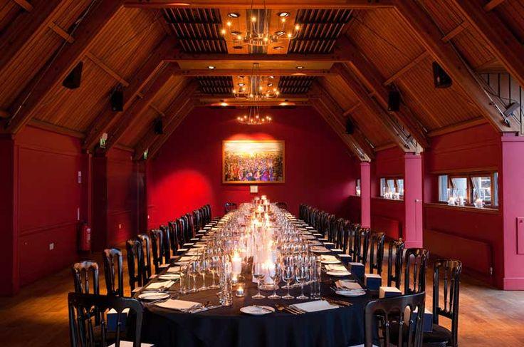 Jacobite Room Banquet Setting Historic Scotland