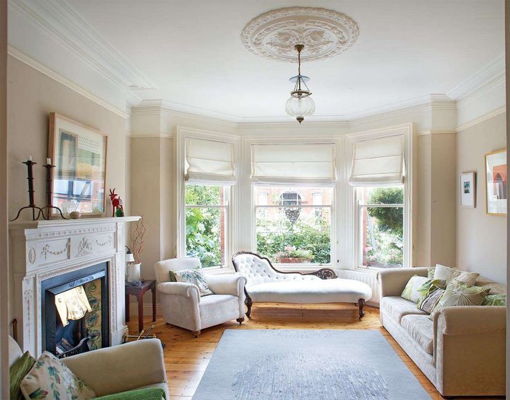 Modern Living Room Edwardian House Novocom Top