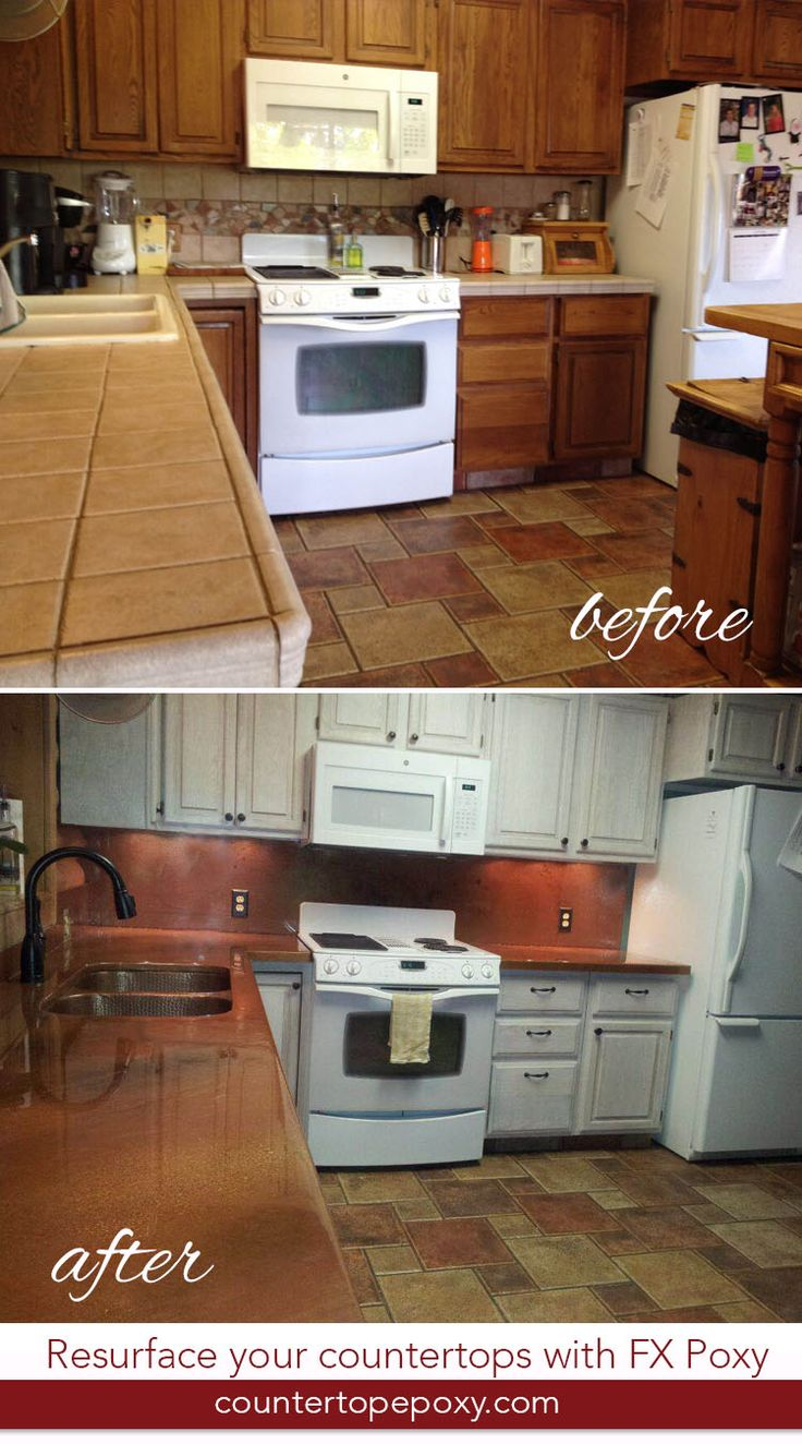 Update Your Kitchen Using FX Poxy To Resurface Your