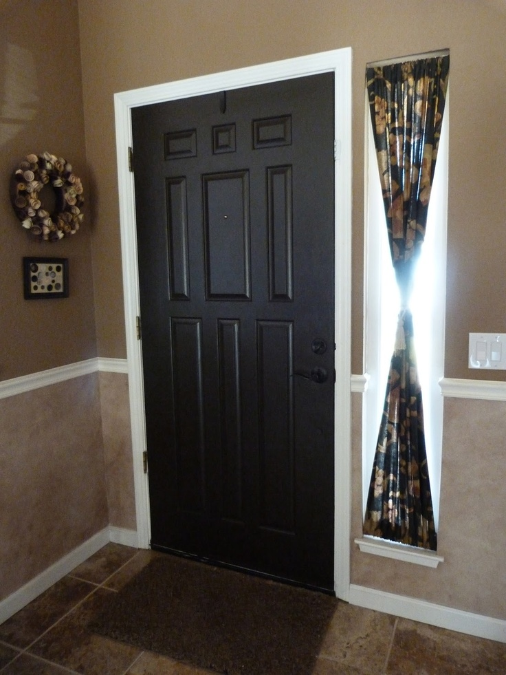 10 Best Images About Window Stuff On Pinterest Curtain Rods Front Door Curtains And Front Doors