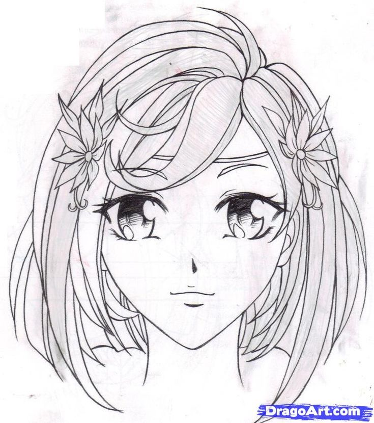 How to Draw Fantasy Anime How to Draw an Anime Girl