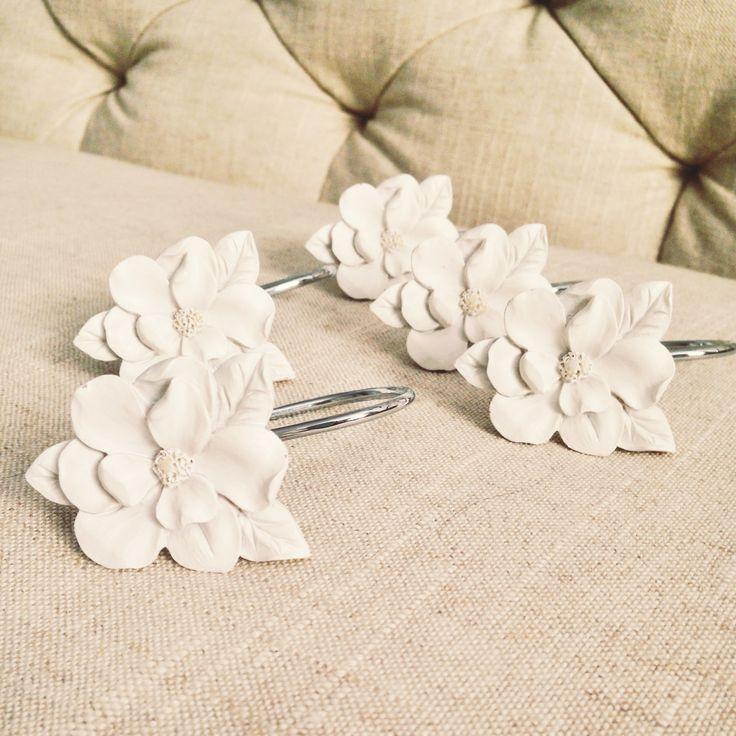 LC Lauren Conrad For Kohls Flower Shower Curtain Hooks