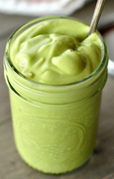 Image result for creamy avocado dressing