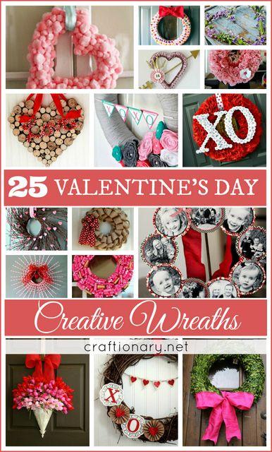 DIY creative wreaths