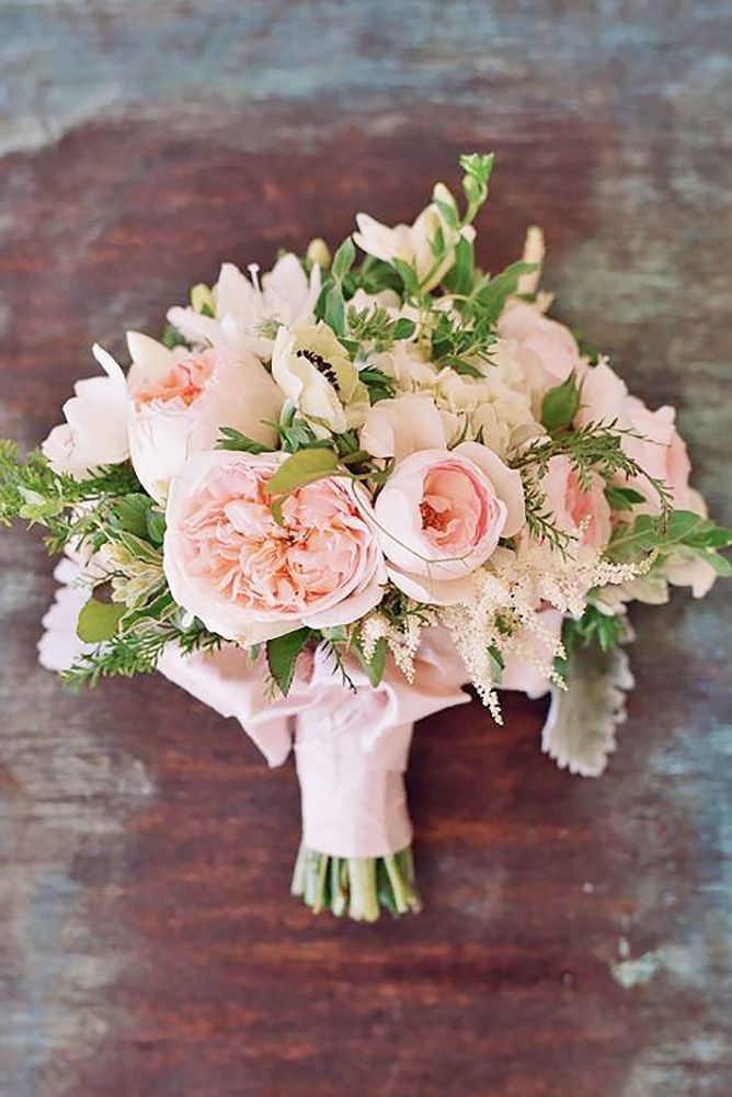 25 Best Blush Wedding Bouquets Ideas On Pinterest
