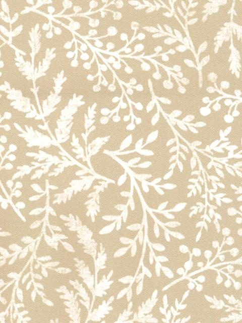 Fern Pattern Neutral Fabric For Curtains Rustic Garden Interior Design Pinterest Window