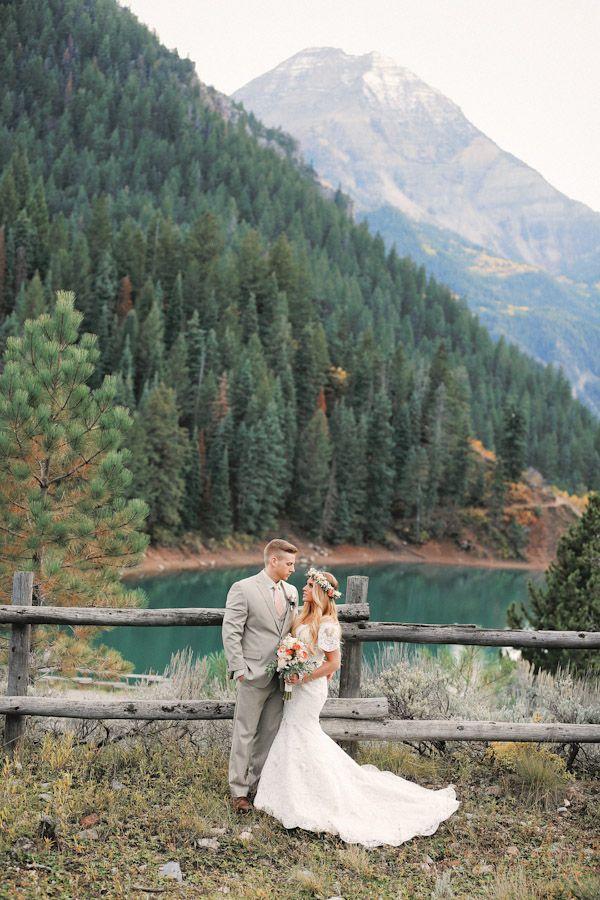 Tibble Fork Bridal Utah Wedding Photographer Alpine