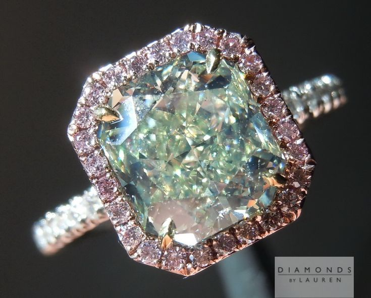 25 Best Ideas About Green Diamond Rings On Pinterest