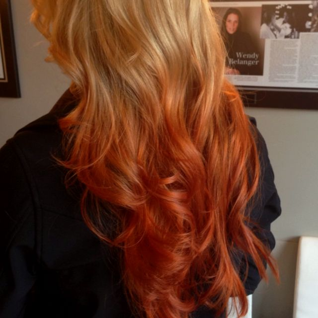 Blonde To Copper Its All About The Hair Pinterest