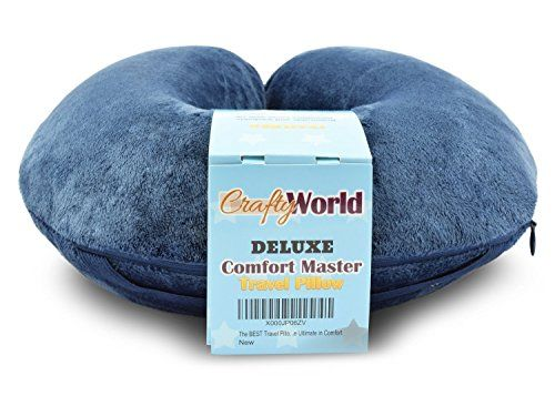 50 OFF Today The Comfort Master Is The BEST Travel Pillow For Airplane Bus Train Car Or