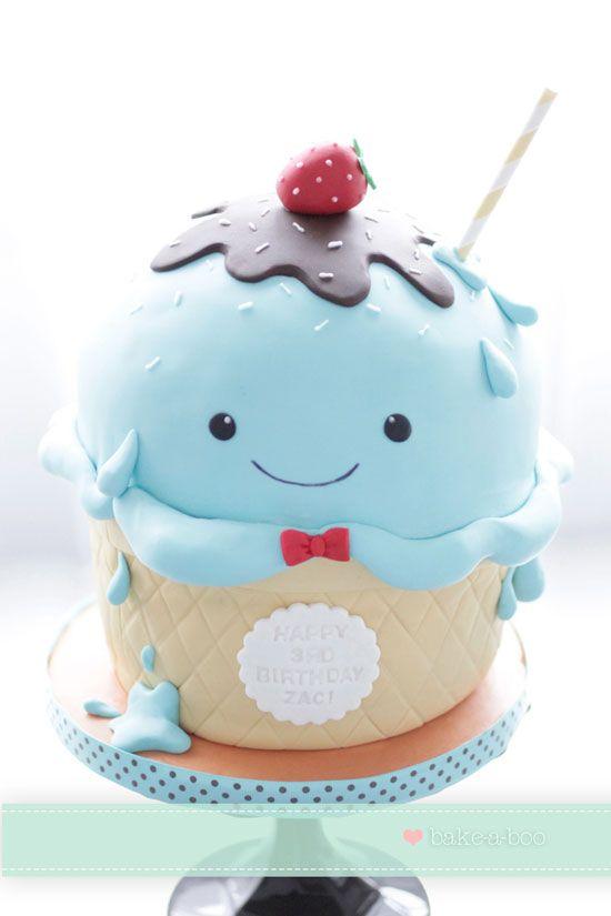 Cute Icecream Cupcake