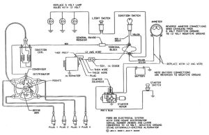 electrical schematic for 12 v ford tractor 8n  Google