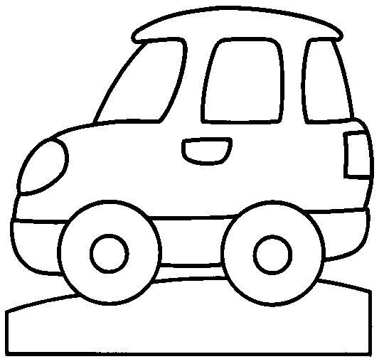 dibujos para colorear de coches automóvil carro plantillas para