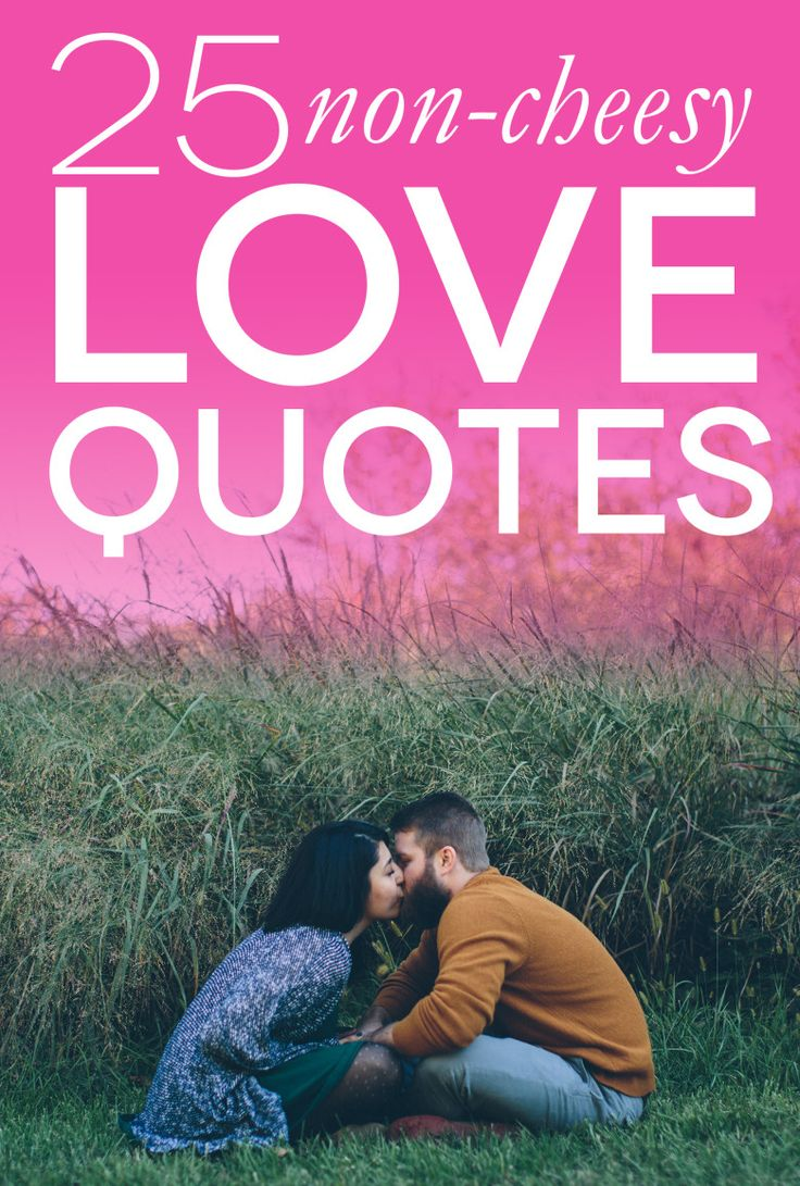 Love Quotes 25 NonCheesy Quotes For Weddings and
