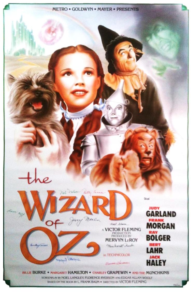 MetroGoldwynMayer. 1939. Movie Poster. From The Wizard