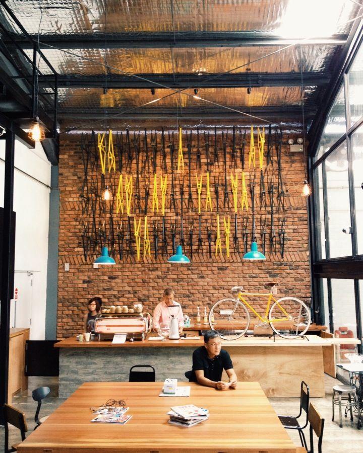 Wheeler's Yard bike shop in Singapore Bike + coffee