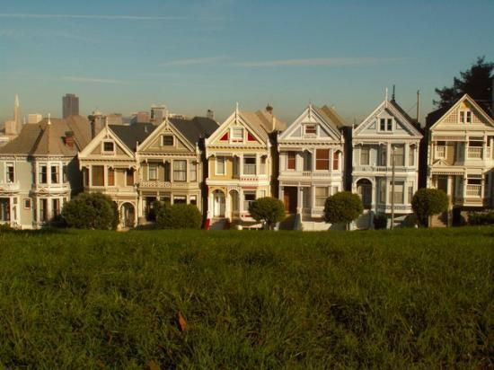 Alamo Square Known Around The World For Its Victorian
