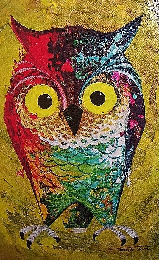 Vintage Owl Illustration Owls Pinterest Owl