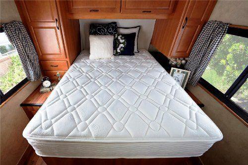 Sleep Master 10 Pillow Top Spring RV Mattress Short