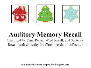10 Images About Slp Auditory Processing Freebies On
