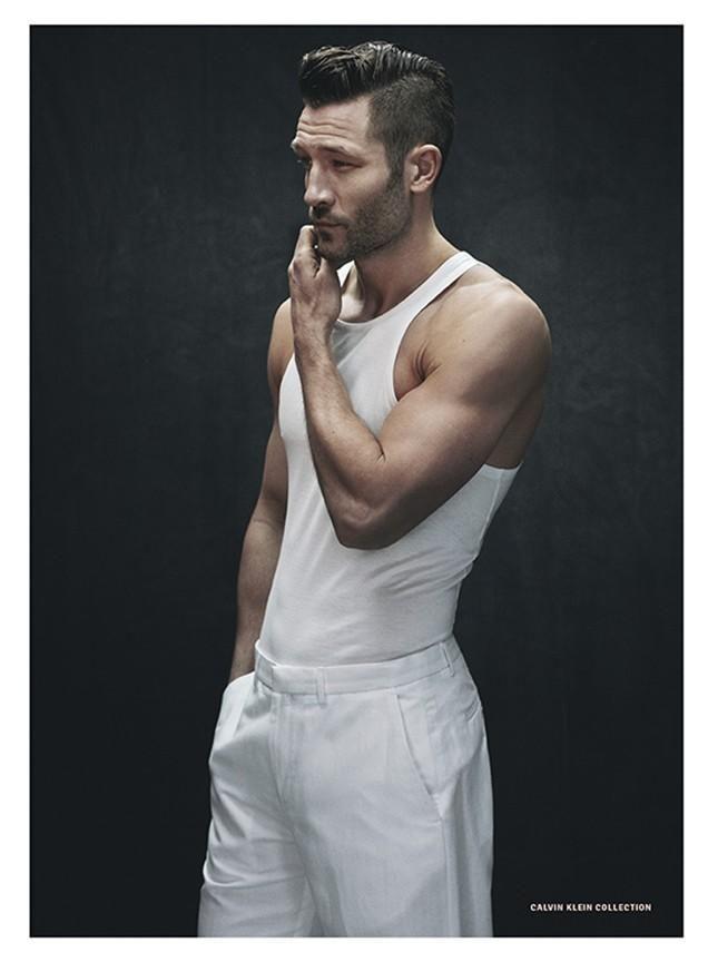 Male Model John Halls Spotting Undercut In DETAILS