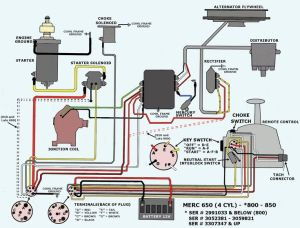 Mercury Outboard Wiring Diagram | Thread: trouble starting