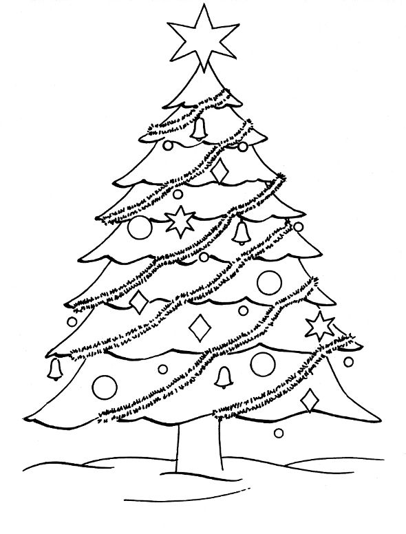 1000 ideas about christmas tree coloring page on pinterest