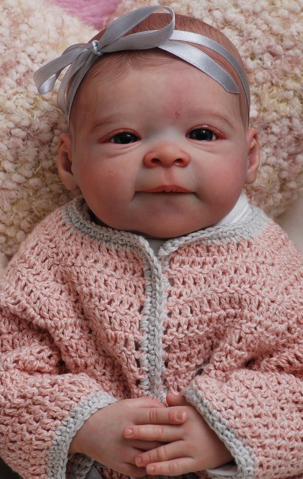 created at Itsy Bitsy Bubs Nursery Australia Reborn baby