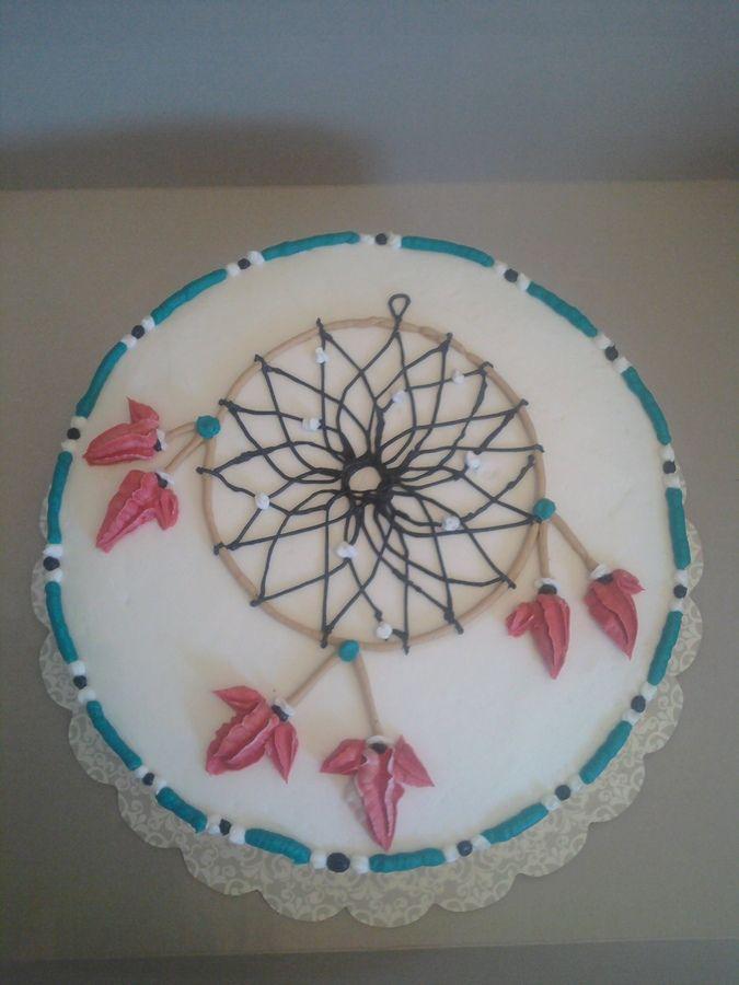 Dreamcatchercake Dream Catcher Birthday Cake Birthday Cakes Cake Ideas Pinterest