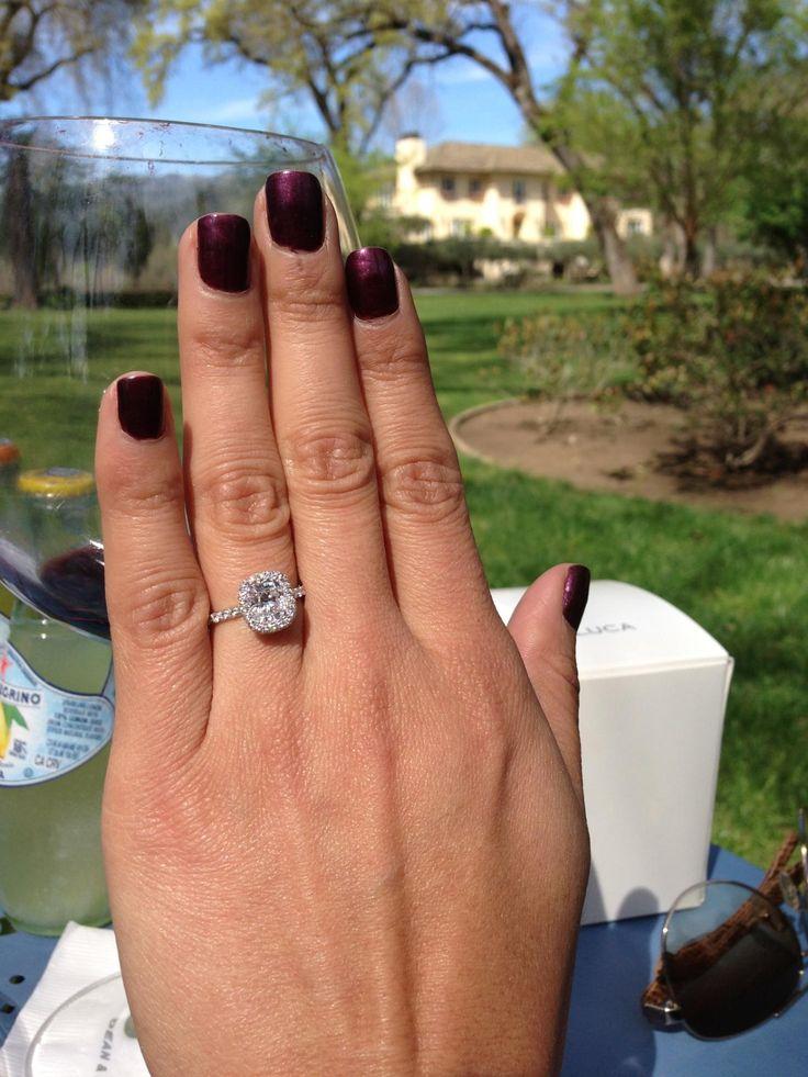 EVA Engagement Ring Designed By Jean Dousset JeanDousset