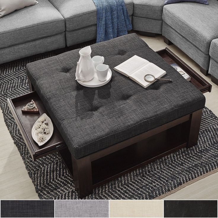 25 Best Ideas About Storage Ottoman Coffee Table On