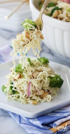 This Ramen Noodle Salad is a summer favorite! It's so easy and inexpensive to make, PLUS it's crazy delici
